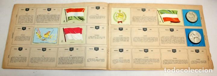 Coleccionismo Álbumes: COLECCIÓN UNIVERSAL-LIBRO DE BANDERAS-ESCUDOS-MONEDAS-MAPAS. - Foto 5 - 134133178