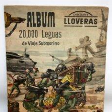 Coleccionismo Álbumes: ALBUM 2- 20.000 LEGUAS DE VIAJE SUBMARINO-CHOCOLATES LLOVERAS.. Lote 134134514