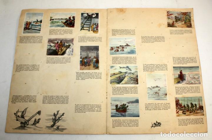 Coleccionismo Álbumes: ALBUM 2- 20.000 LEGUAS DE VIAJE SUBMARINO-CHOCOLATES LLOVERAS. - Foto 3 - 134134514