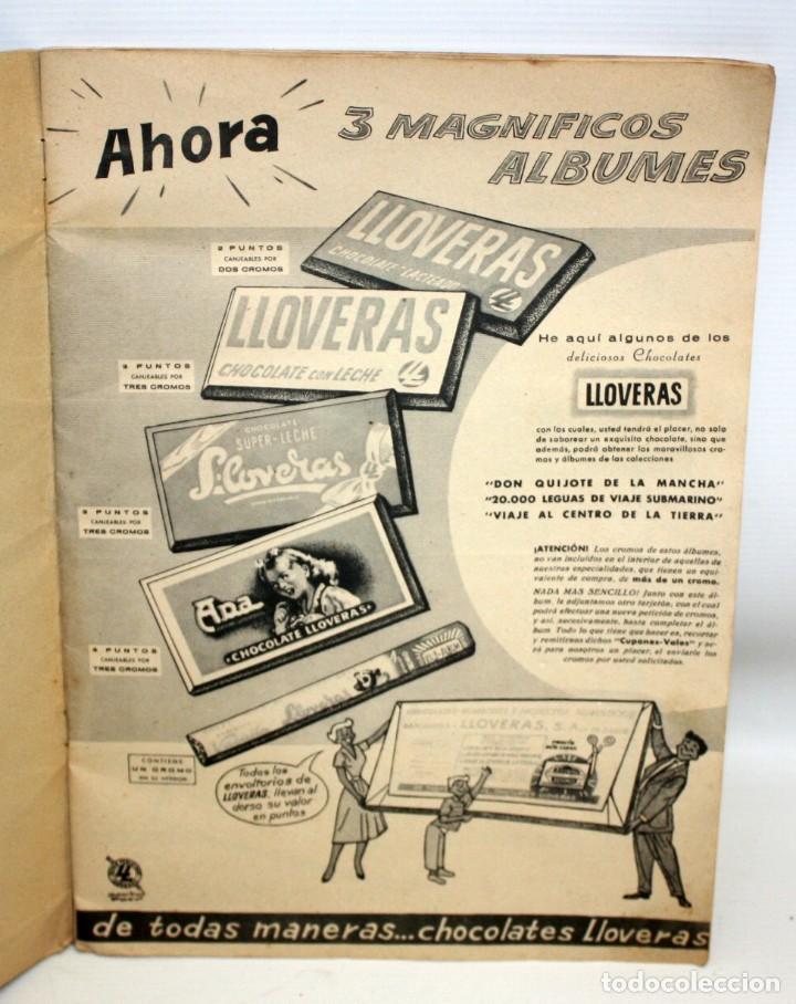 Coleccionismo Álbumes: ALBUM 2- 20.000 LEGUAS DE VIAJE SUBMARINO-CHOCOLATES LLOVERAS. - Foto 4 - 134134514