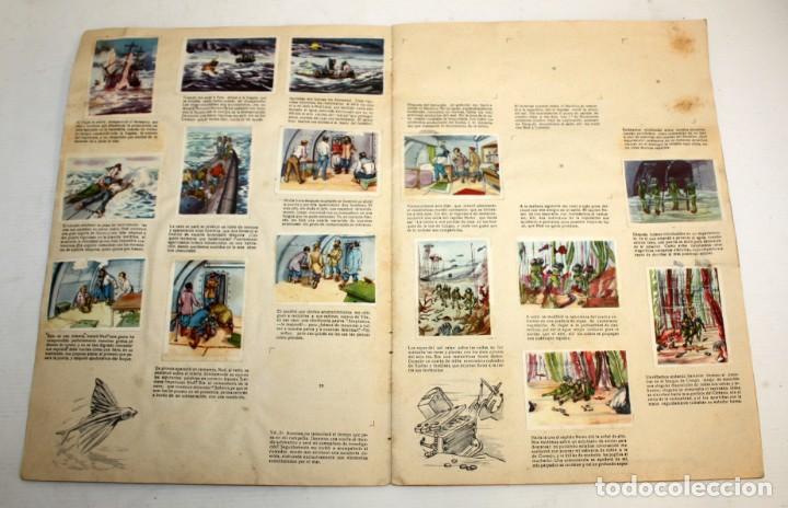 Coleccionismo Álbumes: ALBUM 2- 20.000 LEGUAS DE VIAJE SUBMARINO-CHOCOLATES LLOVERAS. - Foto 5 - 134134514