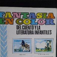 Coleccionismo Álbumes: ÁLBUM CROMOS NUEVO FANTASÍA EN COLOR COLED. Lote 134931665