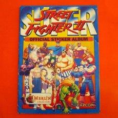 Coleccionismo Álbumes: SUPER STREET FIGHTER II - OFFICIAL STICKER ÁLBUM - EDITADO POR MERLIN COLLECTIONS - CAPCOM. Lote 134943994