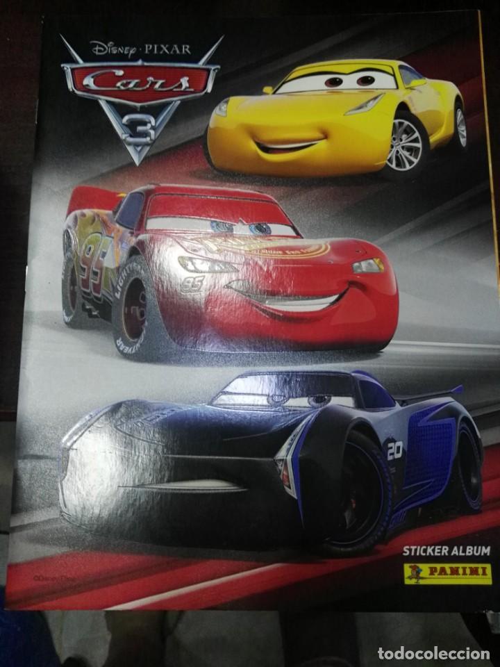 Disney Cars 3-cromos 1 álbum