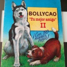Coleccionismo Álbumes: ÁLBUM CROMOS PANRICO BOLLYCAO TU MEJOR AMIGO II LOS PERROS. Lote 135278710
