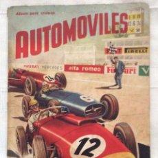 Coleccionismo Álbumes: ÁLBUM DE CROMOS -AUTOMÓVILES F H E R -1958. Lote 135344206