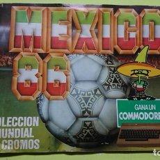 Coleccionismo Álbumes: ÁLBUM DE CROMOS MEXICO 86 CROMOS BARNA INCOMPLETO . Lote 135554610