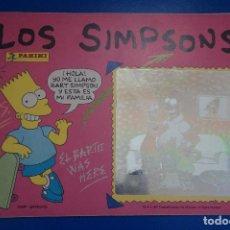 Coleccionismo Álbumes: ALBUM INCOMPLETO DE LOS SIMPSONS AÑO 1991 DE PANINI. Lote 135826730