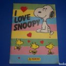 Coleccionismo Álbumes: ALBUM INCOMPLETO DE I LOVE SNOOPY AÑO 1987 DE PANINI. Lote 161207194
