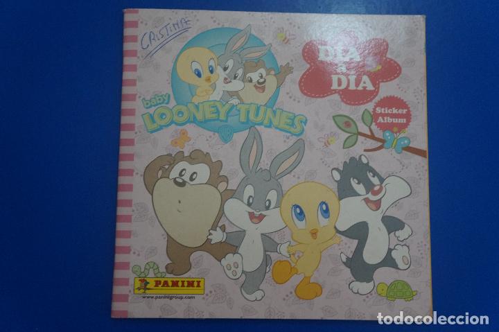 ALBUM INCOMPLETO DE BABY LOONEY TUNES AÑO 2009 DE PANINI segunda mano