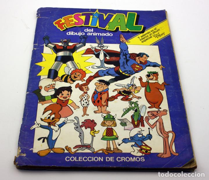 FESTIVAL DEL DIBUJO ANIMADO - ALBUM DE CROMOS - FALTAN 15 DE 178 CROMOS - PACOSA (Coleccionismo - Cromos y Álbumes - Álbumes Incompletos)