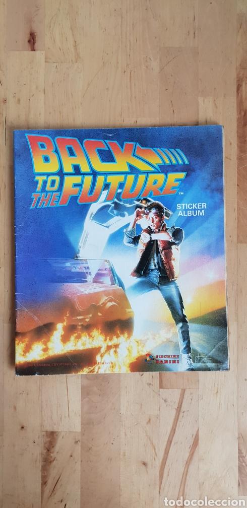 Album vacío regreso al futuro Back to the Future panini segunda mano