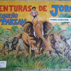 Coleccionismo Álbumes: AVENTURAS DE JORGE EL PEQUEÑO TARZAN VACIO. Lote 180021148