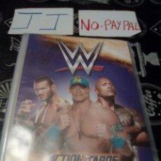 Coleccionismo Álbumes: ÁLBUM WWE W ACTIONCARDS ACTION CARDS PANINI CON APROXIMADAMENTE 120 CARTAS , VER DESCRIPCIÓN ESTADO. Lote 136649534
