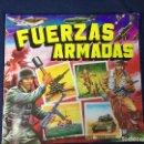 Coleccionismo Álbumes: ÁLBUM FUERZAS ARMADAS ADHESIVOS TROQUELADOS EDITORIAL MAGA 1981. Lote 136819570