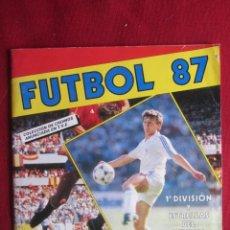 Coleccionismo Álbumes: FUTBOL 87. INCOMPLETO. FALTAN 175. Lote 136970390
