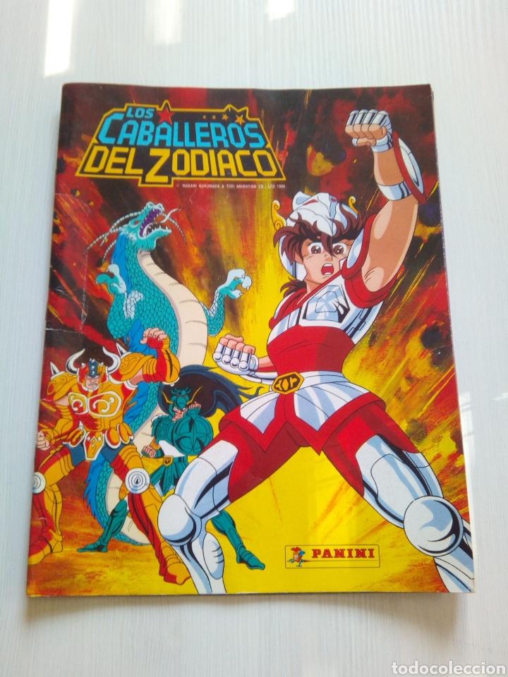 ALBUM CABALLEROS ZODIACO PANINI 1986 (Coleccionismo - Cromos y Álbumes - Álbumes Incompletos)