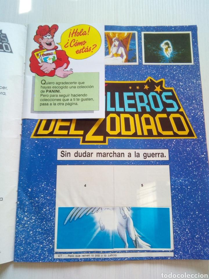 Coleccionismo Álbumes: ALBUM CABALLEROS ZODIACO PANINI 1986 - Foto 2 - 137191286