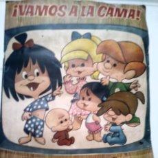 Coleccionismo Álbumes: VAMOS A LA CAMA. LA FAMILIA TELERIN. BRUGUERA. INCOMPLETO. TIENE 154 CROMOS.. Lote 137321534