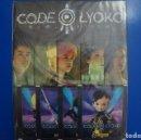Coleccionismo Álbumes: ÁLBUM VACIO + 4 SOBRES DE CROMOS SIN ABRIR DE CODIGO LYOKO EVOLUTION AÑO 2014 DE PANINI. Lote 137391914