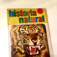 Coleccionismo Álbumes: ALBUM HISTORIA NATURAL FALTAN SOLO 52 CROMOS DE 508 EDITORIAL BRUGUERA . VER FOTOS. Lote 137642130