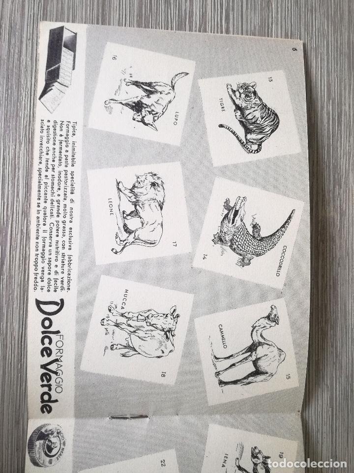 Coleccionismo Álbumes: ANTIGUO Y PRECIOSO ALBUM DE CROMOS - IL MIO ZOO - 1936 - PUBLICIDAD DE MIO FORMAGGIO - EN PERFECTO E - Foto 2 - 138556498