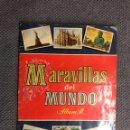 Coleccionismo Álbumes: MARAVILLAS DEL MUNDO. ÁLBUM II. EDITORIAL BRUGUERA (H.1956?). Lote 138615345