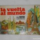 Coleccionismo Álbumes: ALBUM.- LA VUELTA AL MUNDO EN 320 CROMOS - EDITORIAL BRUGUERA 1971. SIN CONTENIDO. TDKC38. Lote 139261126