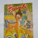 Coleccionismo Álbumes: ALBUM DE CROMOS BAMBI. WALT DISNEY. EDITORIAL FHER. 1961. LE FALTAN 29 DE 220 CROMOS. TDKC38. Lote 139275682
