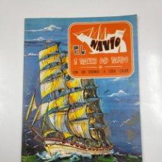 Coleccionismo Álbumes: ALBUM DE CROMOS. EL NAVIO A TRAVES DEL TIEMPO. SIN USAR. NO CONTIENE CROMOS. TDKC38. Lote 139417494