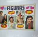 Coleccionismo Álbumes: ALBUM FIGURAS 175 CROMOS CANCIONES. CINE. TV. PERSONAJES POPULARES. SIN CONTENIDO. TDKC38. Lote 139432618