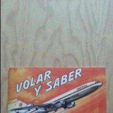 Coleccionismo Álbumes: EXCELENTE ALBUM BIMBO VOLAR Y SABER. SOLO LE FALTA EL NUMERO 39. Lote 139620258