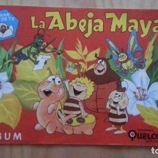 Coleccionismo Álbumes: ALBUM LA ABEJA MAYA. QUELCOM. 1978. SOLO TIENE 15 CROMOS.. Lote 139894138