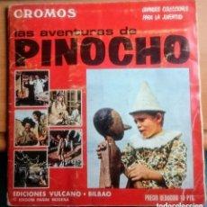 Coleccionismo Álbumes: LAS AVENTURAS DE PINOCHO. Lote 139996166