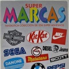 Coleccionismo Álbumes: SUPER MARCAS. Lote 140021558