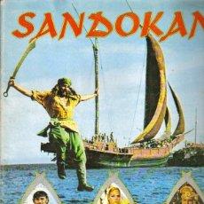 Coleccionismo Álbumes: SANDOKAN - ALBUM DE CROMOS. FALTAN 12 CROMOS.. Lote 140125557
