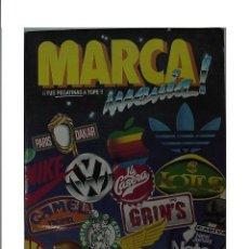 Coleccionismo Álbumes: MARCA MANÍA - ALBUM DE CROMOS. FALTA 1 CROMO.. Lote 140125709
