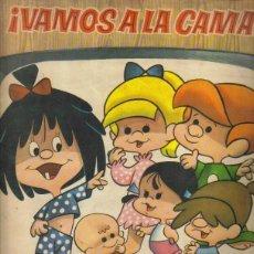 Coleccionismo Álbumes: ¡VAMOS A LA CAMA! - ALBUM DE CROMOS INCOMPLETO.. Lote 140125729