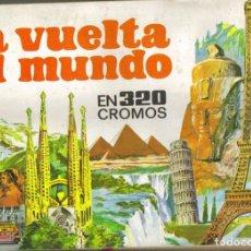 Coleccionismo Álbumes: LA VUELTA AL MUNDO. - ALBUM DE CROMOS INCOMPLETO.. Lote 140125873