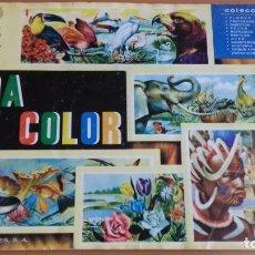 Coleccionismo Álbumes: ALBUM VIDA Y COLOR COMPLETO. Lote 140235546