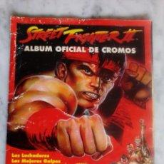 Coleccionismo Álbumes: ALBUM - STREET FIGHTER II - CAPCOM - COLECCION MERLIN - 122 CROMOS DE 240 -. Lote 140567558
