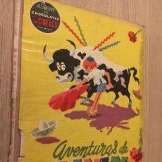Coleccionismo Álbumes: ÁLBUM DE CHOCOLATES LA CIBELES Nº 3 AVENTURAS DE PININ 1959 LE FALTAN 9 CROMOS. Lote 140663378