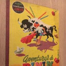 Coleccionismo Álbumes: ÁLBUM DE CHOCOLATES LA CIBELES Nº 3 AVENTURAS DE PININ 1959 LE FALTAN 15 CROMOS. Lote 140663406