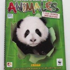 Coleccionismo Álbumes: ALBUM VACÍO ANIMALES MUNDO ANIMAL 2013 PANINI. Lote 140663694