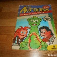 Coleccionismo Álbumes: ÁLBUM INCOMPLETO 59 CROMOS ADHESIVOS LOS AURONES D'OCON MULTILIBRO S.A. 1987 FALTAN 49 CROMOS. Lote 195308287