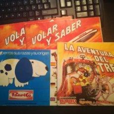 Coleccionismo Álbumes: BIMBO Y PANRICO LOTE DE 4 ALBUNES PARA APROVECHAR CROMOS. Lote 140759226