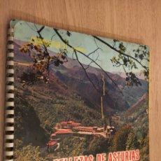 Coleccionismo Álbumes: ALBUM LAS BELLEZAS DE ASTURIAS / 1965. Lote 140790898