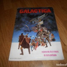 Coleccionismo Álbumes: ALBUM DE CROMOS GALACTICA MAGA 1978 NO COMPLETO CON 239 CROMOS VER DESCRIPCION Y FOTOS. Lote 140865758
