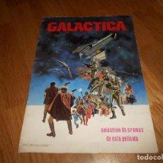 Coleccionismo Álbumes: ALBUM DE CROMOS GALACTICA MAGA 1978 NO COMPLETO CON 44 CROMOS VER DESCRIPCION Y FOTOS SALIDA 1€. Lote 140879818