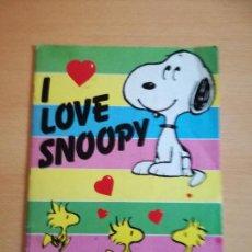 Coleccionismo Álbumes: ALBUM I LOVE SNOOPY DE PANINI. FALTAN 50 CROMOS. 1987. Lote 140898266